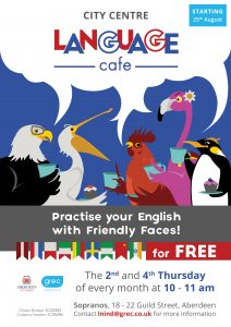 GREC Language Cafe City Centre